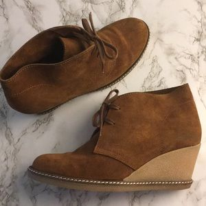J. Crew MacAlister Wedge Boots